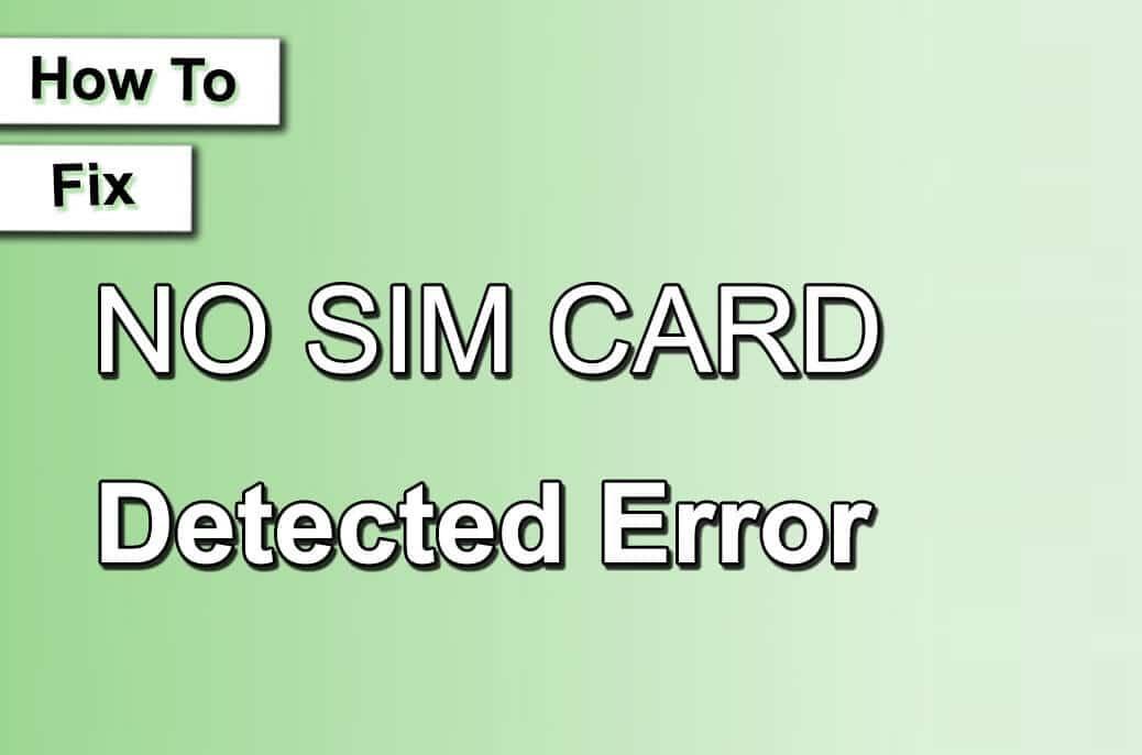 How To Fix No SIM Card Error In Blu Touchbook G7 P240