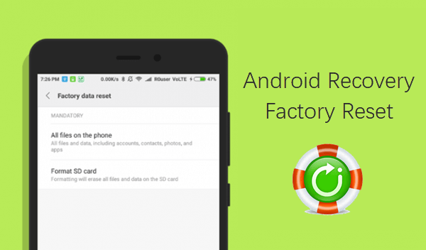 How Reset android Device