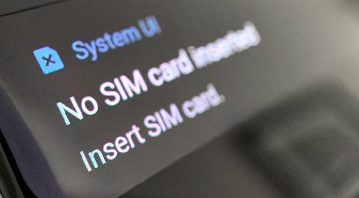 HOW TO FIX NO SIM CARD ERROR IN Samsung Galaxy S6