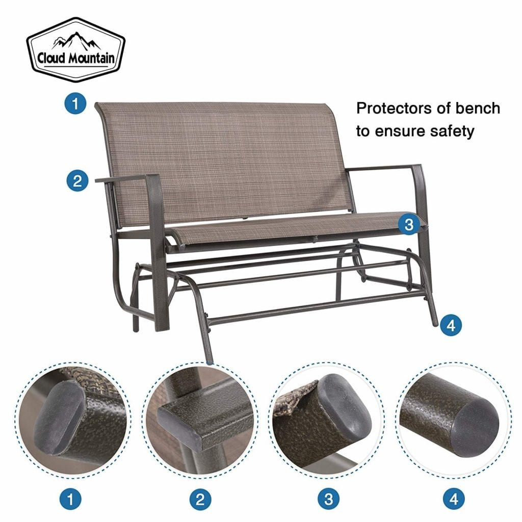 The Best Outdoor Glider Benches In 2020 Buying Guide