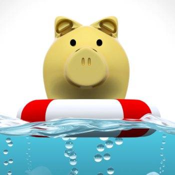 Piggy Bank Life Preserver