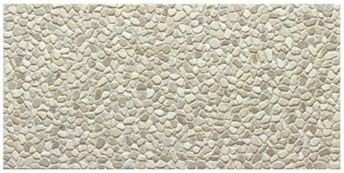 TS467025  GREY PEBBLE 12X24 DECO TILE (11.65 sqft per box)