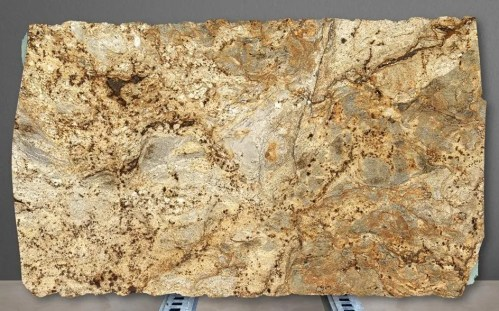Golden Crystal Polished Granite Slab