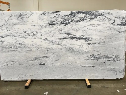 Fumosa Perla Honed Marble Slab