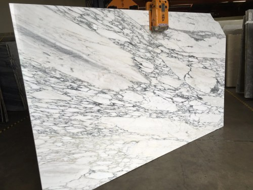 Calacatta Faniello Polished Marble Slab
