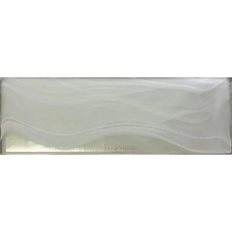 ts1406020 white silver glass 3x9 subway
