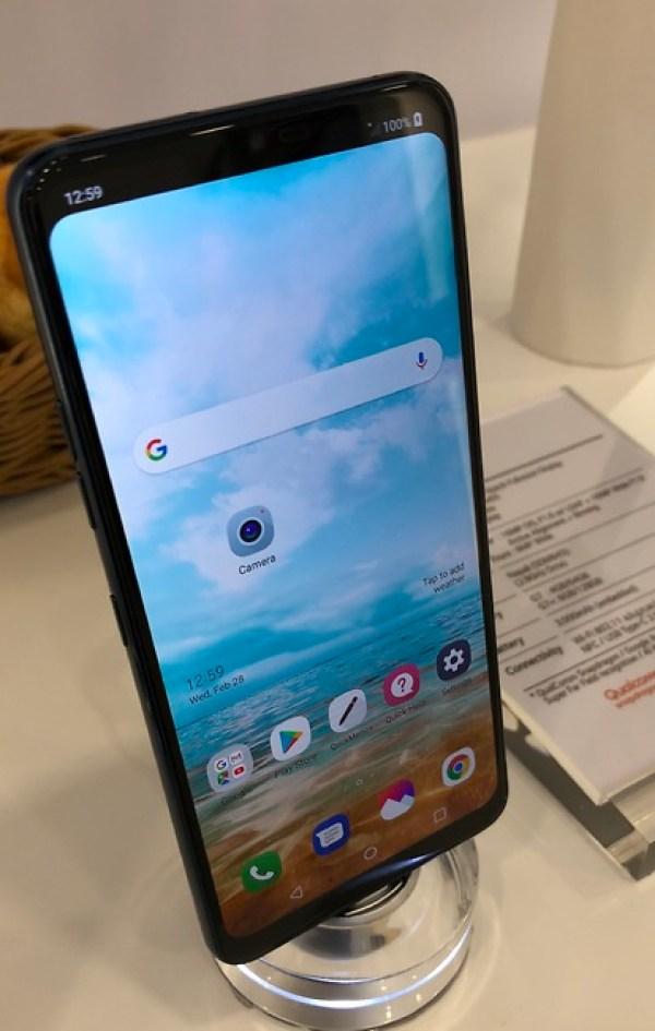 Trendy Techz LG G7 MWC 2018