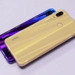 Trendy Techz Huawei Nova 3 purple and gold