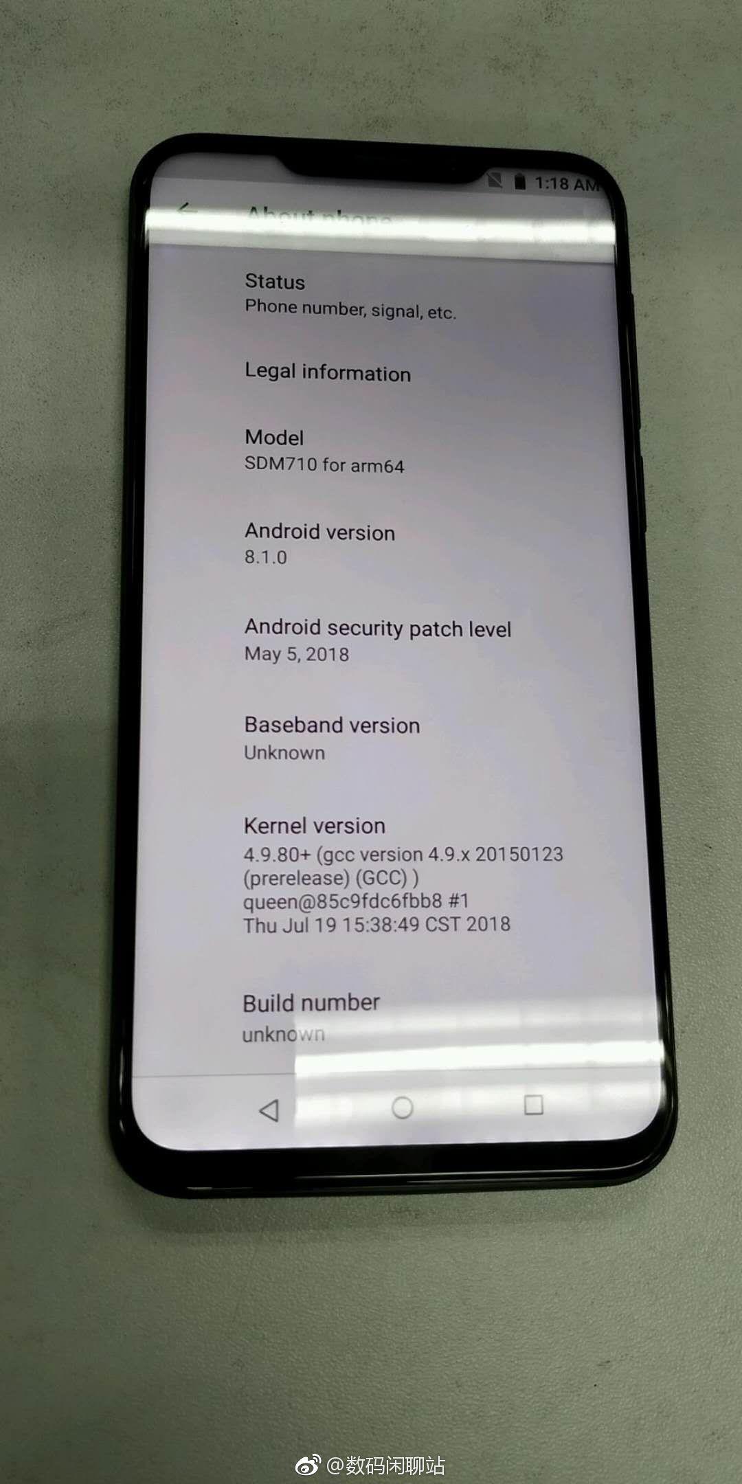 Trendy Techz Meizu X8 Smartphone live image leak