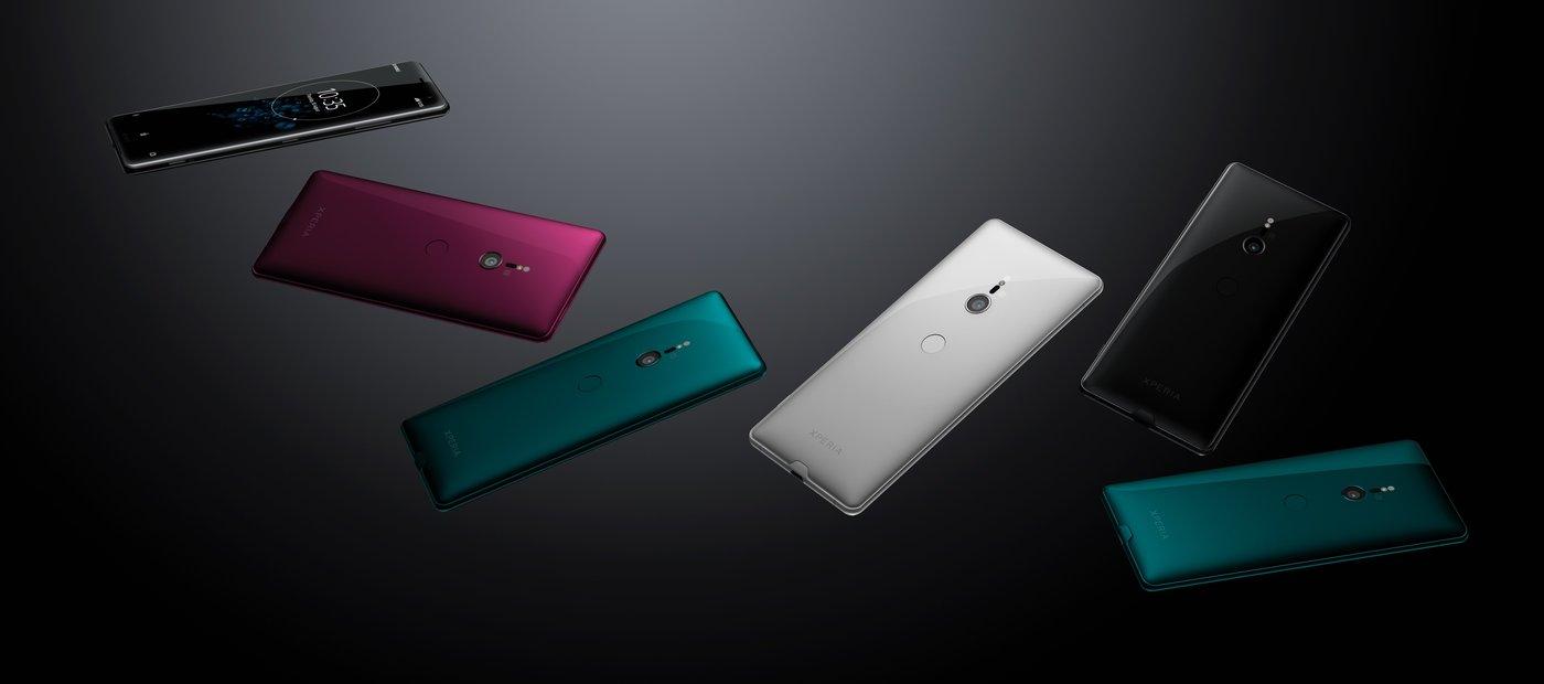 Trendy Techz Sony Xperia XZ3 All colors Press renders