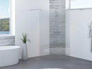 VikingBad glassfelt rett Mats 100x193cm
