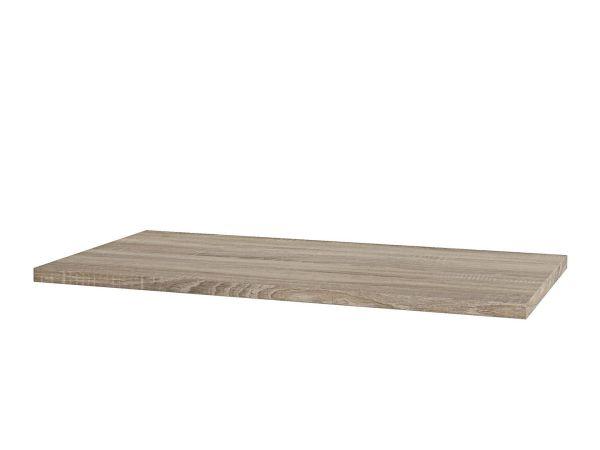 MDF topp-/benkeplate Lys eik PVC 60-120cm - 60cm