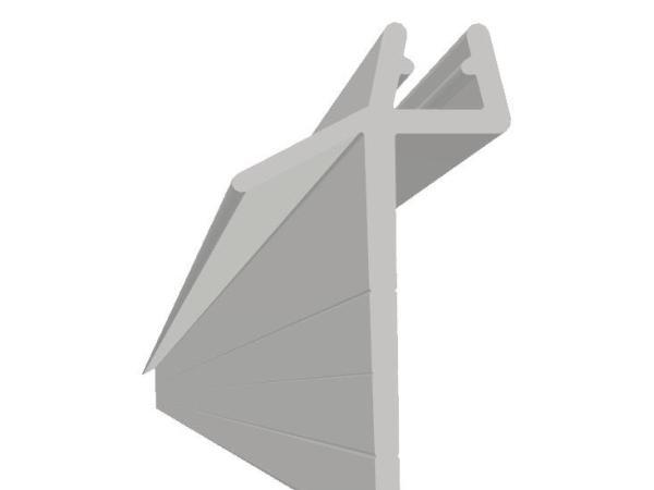 Subbelist Liam PVC 32mm Rivbar 1000mm