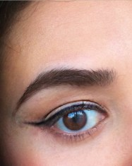 Cute cat eyeliner