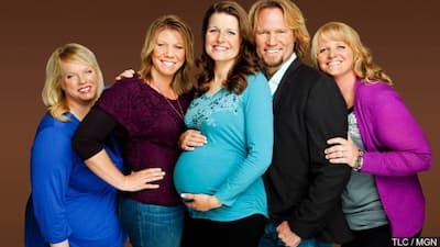 Kody Brown with wives