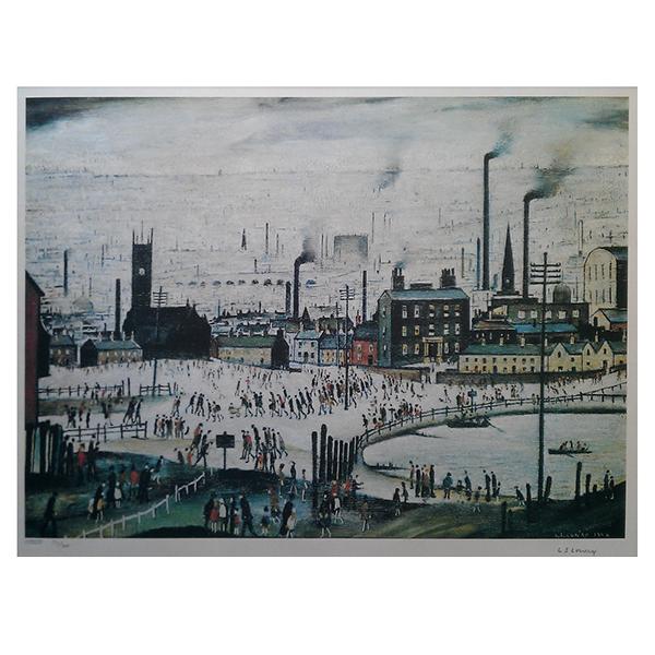Industrial-Town-Laurence-Stephen-Lowry-Trent-Art