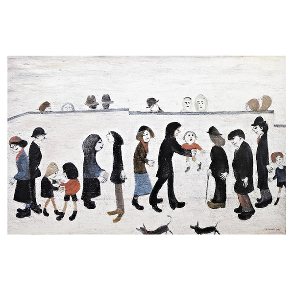 Man-Holding-Child-Laurence-Stephen-Lowry-Trent-Art