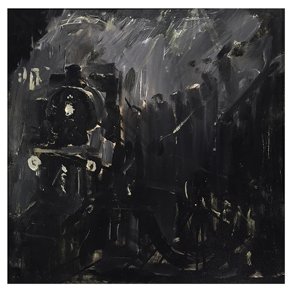 Night-Shift-Train-Frederick-J-England-Trent-Art