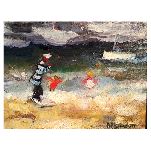 On The Beach Sue Atkinson Trent Art