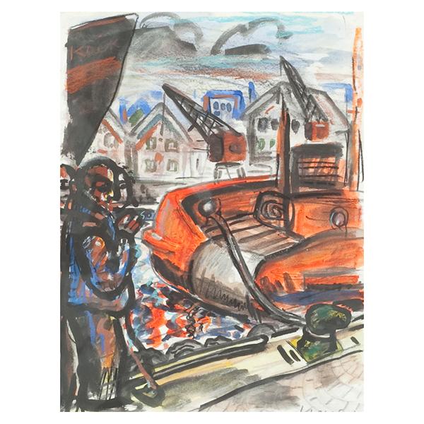 Peter Howson - Sailors Smoking (Trent Art)