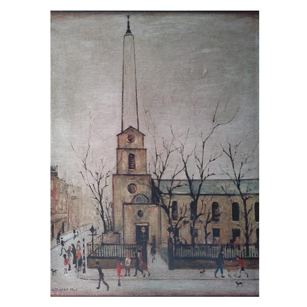 St-Lukes-Church-Laurence-Stephen-Lowry-Trent-Art