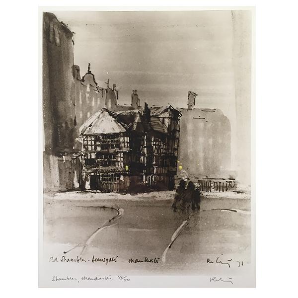 The-Shambles-Deansgate-Harold-Riley-Trent-Art