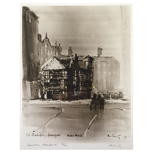 The-Shambles-Deansgate-Harold-Riley-Trent-Art