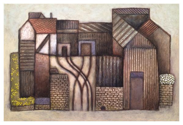 Farm by Jiri Borsky Trent Art