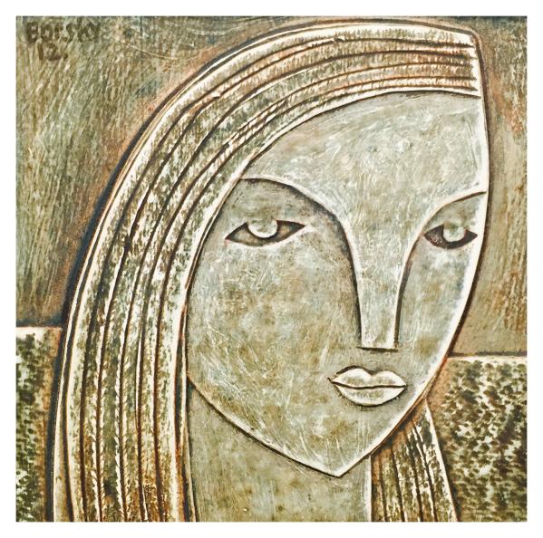 Head of a Girl Jiri Borsky Trent Art