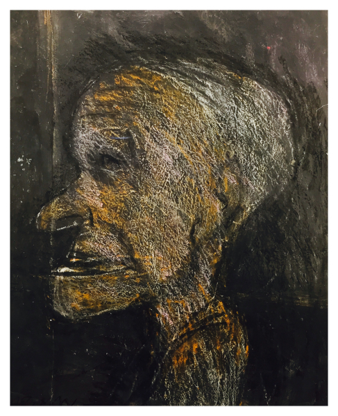Arthur Berry Painings Man in Profile Trent Art