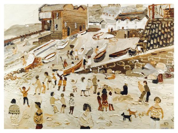 Yates, Fred (1922 – 2008) – Sennen Cove - Trent Art