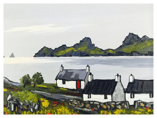 Cottage in The Hebrides, David Barnes