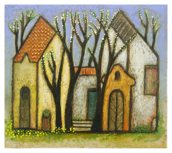 Spring Landscape Jiri Borsky Trent Art