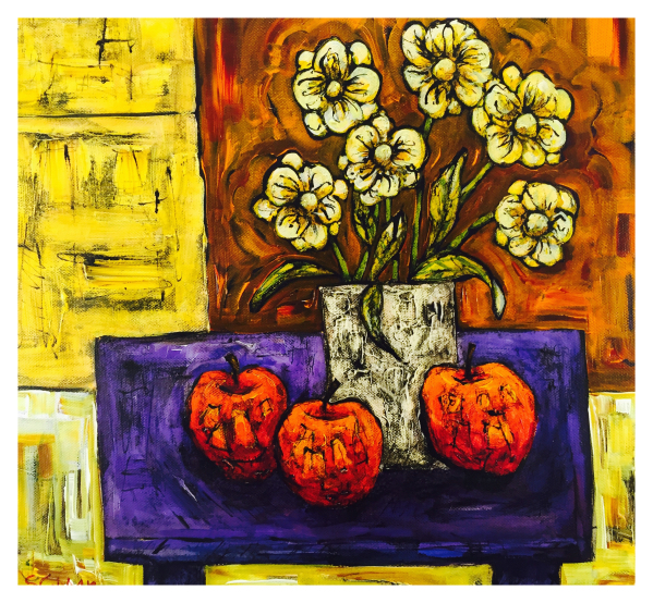 Still Life with Daisies, Steve Capper