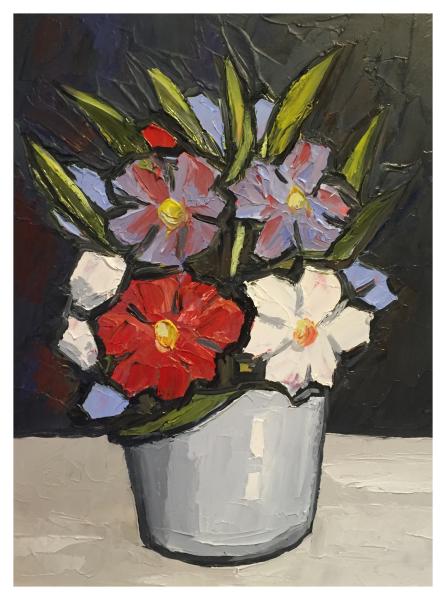 Floribunda on Black, David Barnes