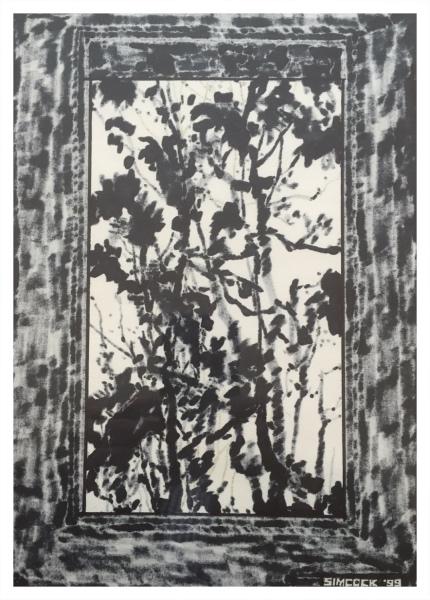 Abstract Drawing #97, Jack Simcoc