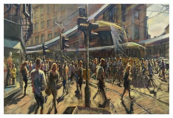 Trams Turning, Rob Pointon