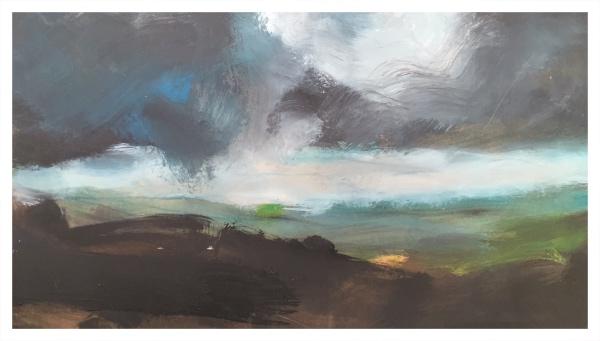 Moorland Under Cloud I, Ian Mood