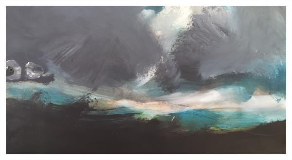 Moorland Under Cloud III, Ian Mood