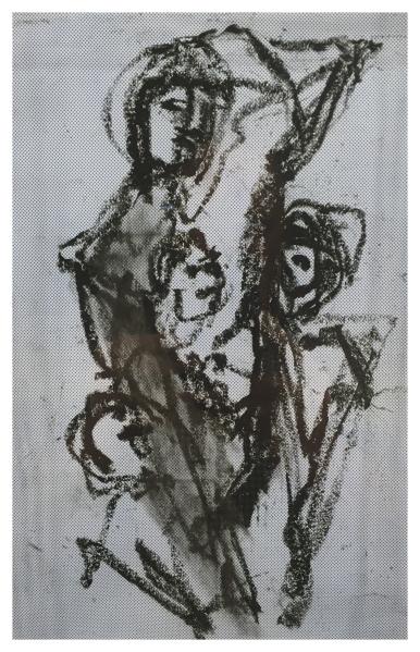 Abstract Drawing I, Tadeusz Was