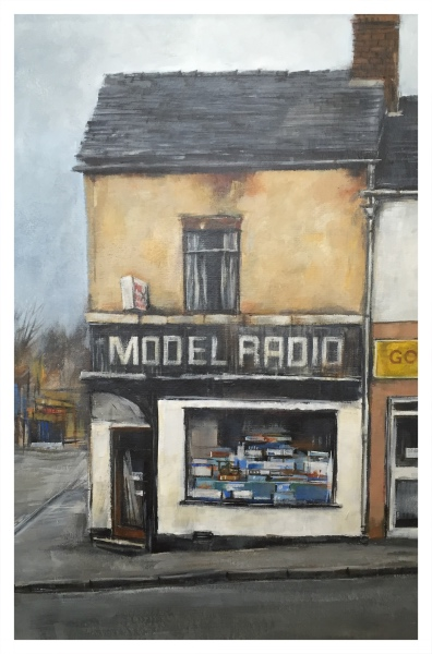 The Model Shop, Brunswick Street, Newcastle, David Brammeld