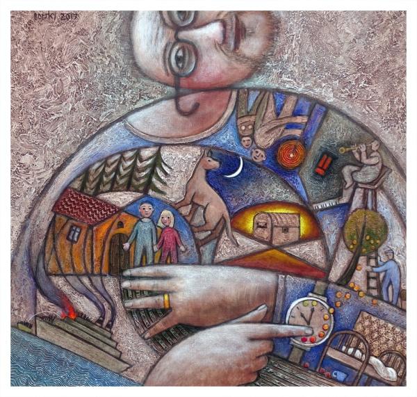 Borsky, Jiri (1945 – ) Grandad's Story - Trent Art
