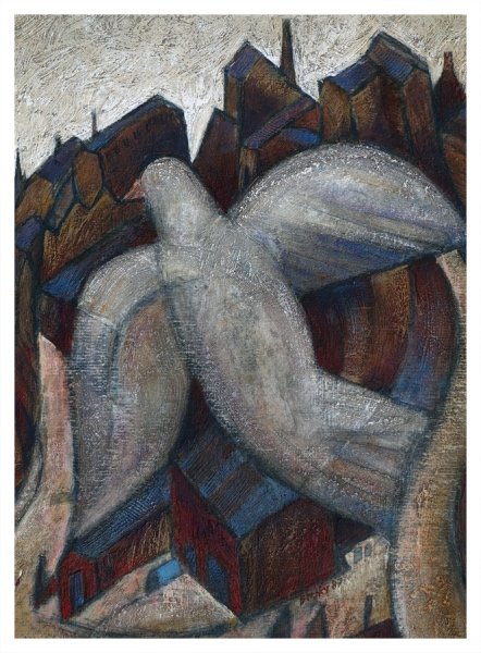 Borsky, Jiri (1945 – ) Dove over Potteries - Trent Art