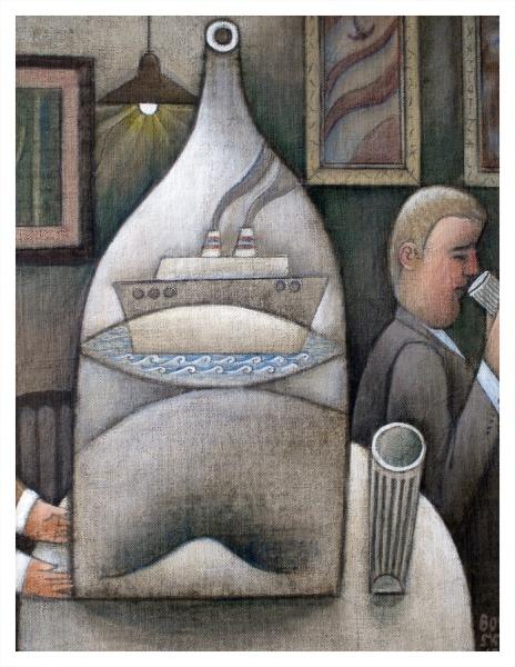 Borsky, Jiri (1945 – ) Drinker - Night Sailings