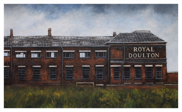 End of an Era - Derelict Royal Doulton Factory, David Brammeld
