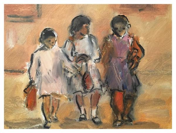 Algerian School Children (365 Series), Ghislaine Howard