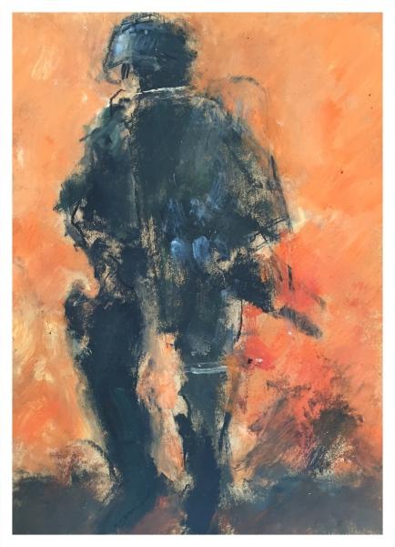 Riot Policeman (365 Series), Ghislaine Howard