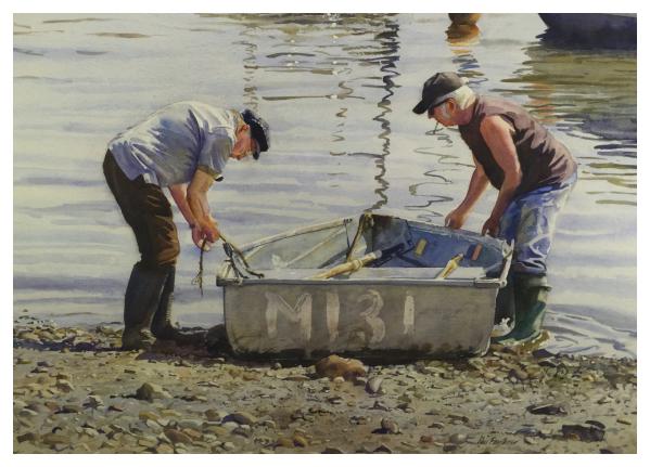Old Boys Tying Up, Neil Faulkner
