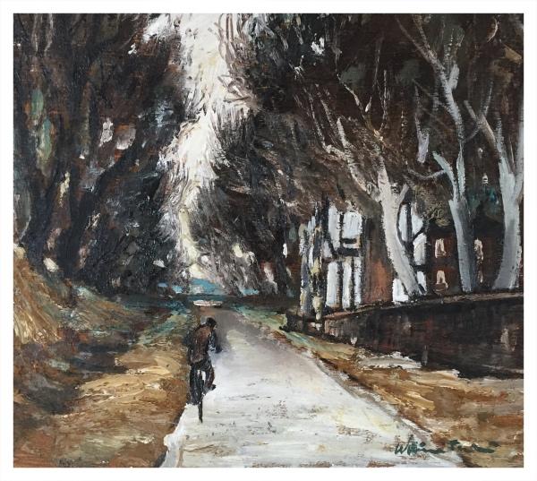 A Cheshire Lane, William Ralph Turner