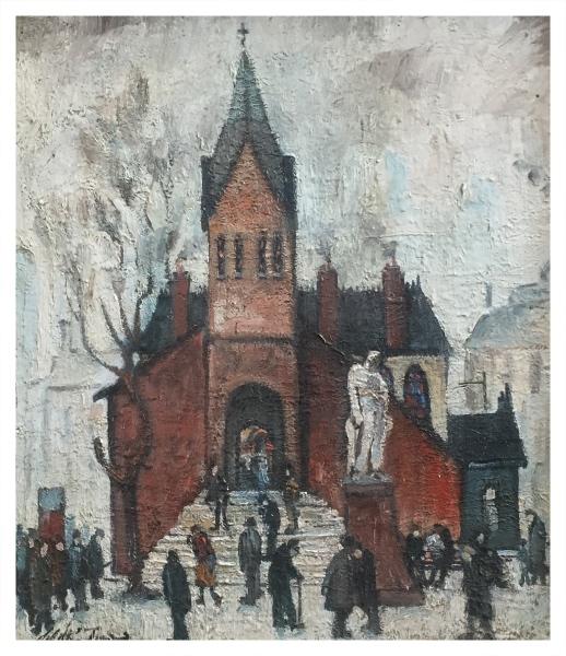 The Hidden Gem, Albert Square, Manchester, William Ralph Turner